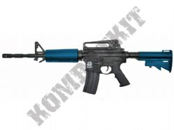 SR4 A1 Sportline M4A1 Carbine Electric AEG Airsoft BB Machine Gun 2 Tone Blue Black